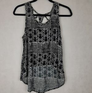 Forever 21 high low tank top size small
